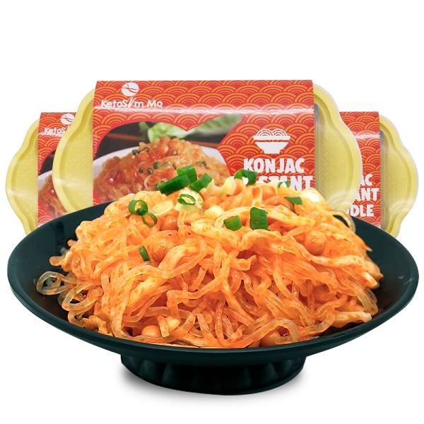 Pea flavor konjac instant noodle